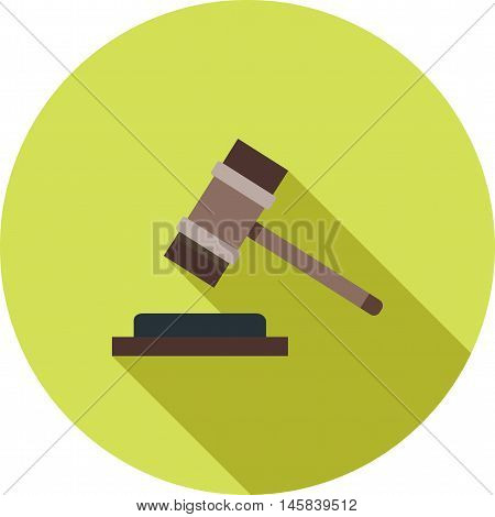 Financial, court, order icon vector image.Can also be used for finances trade. Suitable for use on web apps, mobile apps and print media.
