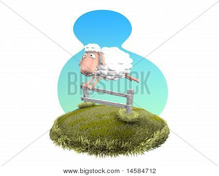Jumping Sheep
