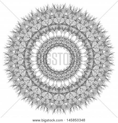 Mandala. Round Ornament Pattern Ethnic ornament Floral circular mandala