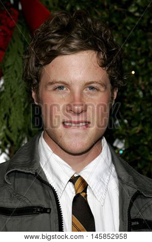 Ashton Holmes at the Los Angeles premiere of 'Just Friends' held at the Mann Village Theatre in Westwood, USA on November 14, 2005.