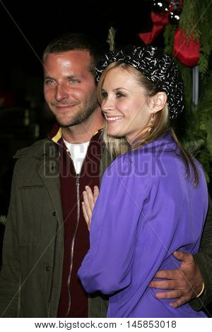 Bonnie Somerville and Bradley Cooper at the Los Angeles premiere of 'Just Friends' held at the Mann Village Theatre in Westwood, USA on November 14, 2005.
