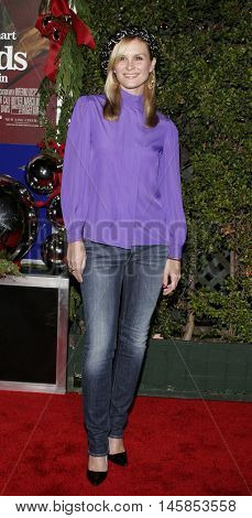 Bonnie Somerville at the Los Angeles premiere of 'Just Friends' held at the Mann Village Theatre in Westwood, USA on November 14, 2005.