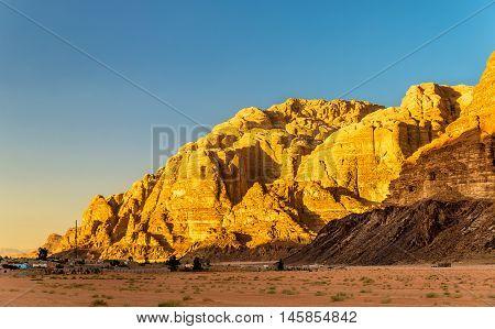 Wadi Rum desert landscape - Jordan, Middle East