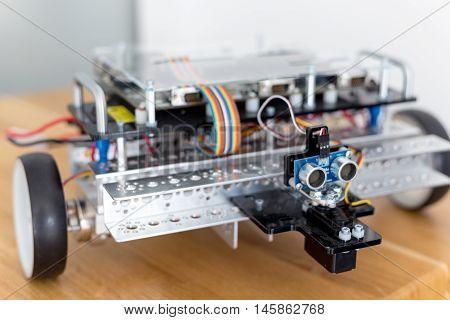 robotics facilities laboratories wires car components construction machines