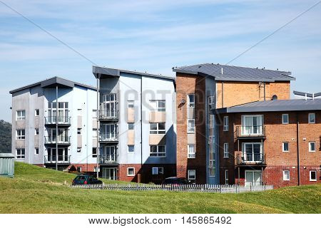 Modern luxury flat apartments in Llanelli, Carmarthenshire, Wales, UK