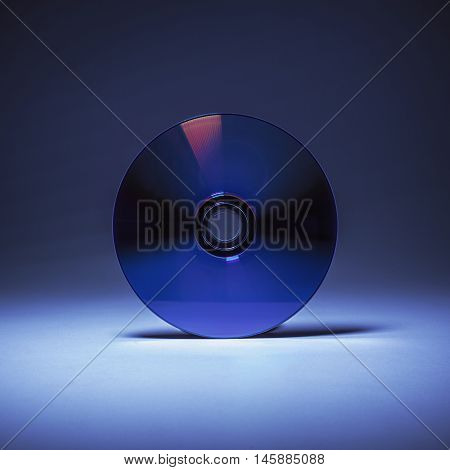 Compact Disk In Blue