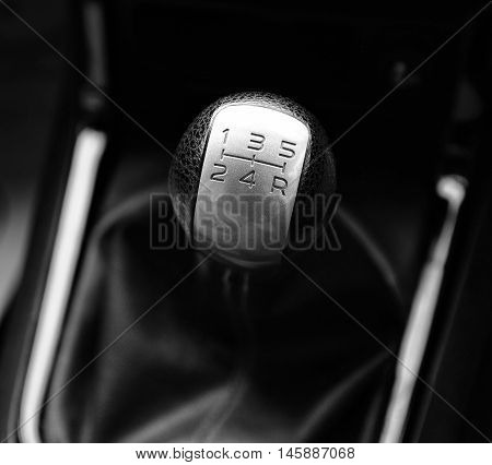 Gear stick for mannual transmission in car