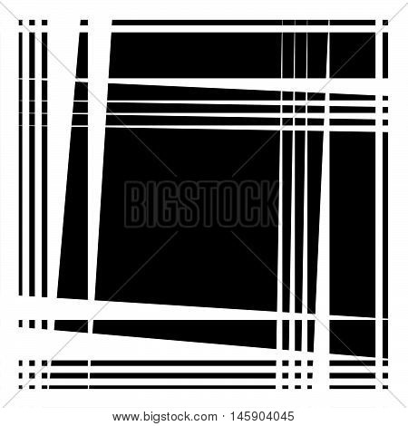 Rough Edgy Pattern, Texture With Random, Chaotic Sharp Triangular Shapes