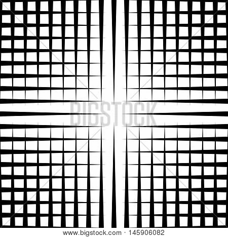 Grid Mesh Pattern With Irregular Lines - Seamlessly Repeatable