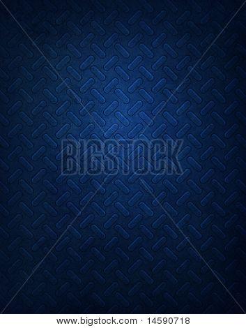 Blue Metal Pattern Background