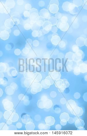 Bright sparkly abstract background of Christmas holiday bokeh lights.