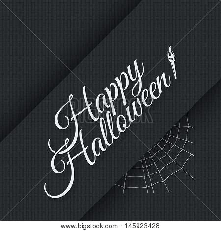 Happy halloween vintage lettering poster background 10 eps