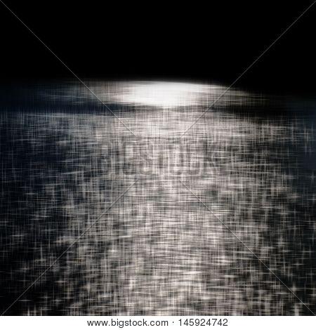 dark background and bright glare black white