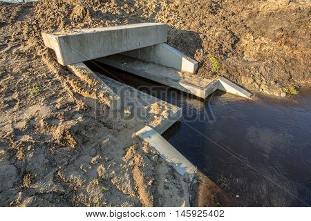 Newly Constructed Eco Culvert