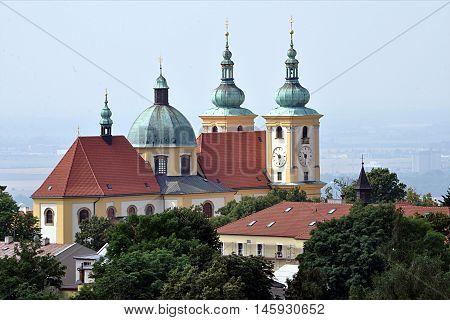 old church in Olomouc, Czech Republic, Europe