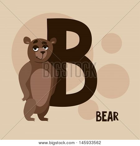 sticker with a picture of a bear on the trail and background writing