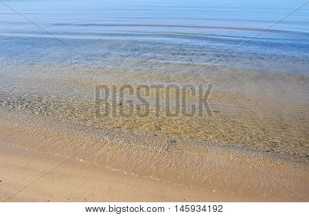 Ripples on Clear Water by Lake Ontario