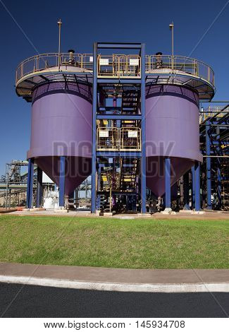 Sugar Cane Industrial Mill Processing Plant In Brazil