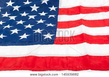 American flag as a the symbol backdrop.