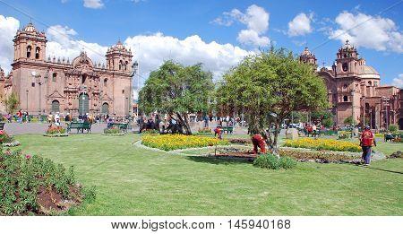 CUSCO PERU-NOV. 25 2010: