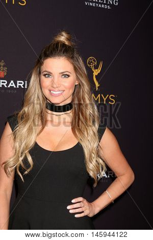 LOS ANGELES - AUG 24:  Amber Lancaster at the Daytime TV Celebrates Emmy Season  at the Television Academy - Saban Media Center on August 24, 2016 in North Hollywood, CA
