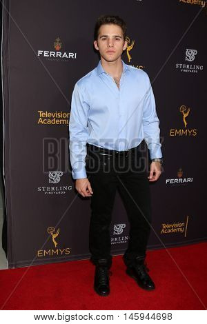 LOS ANGELES - AUG 24:  Casey Moss at the Daytime TV Celebrates Emmy Season  at the Television Academy - Saban Media Center on August 24, 2016 in North Hollywood, CA