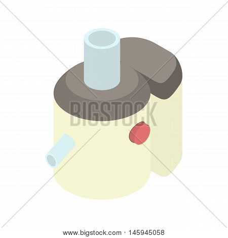 Juicer icon in cartoon style on a white background vector illustration