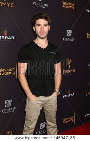 LOS ANGELES - AUG 22:  Kristos Andrews at the Television Academy's Performers Peer Group Celebration at the Montage Hotel on August 22, 2016 in Beverly Hills, CA
