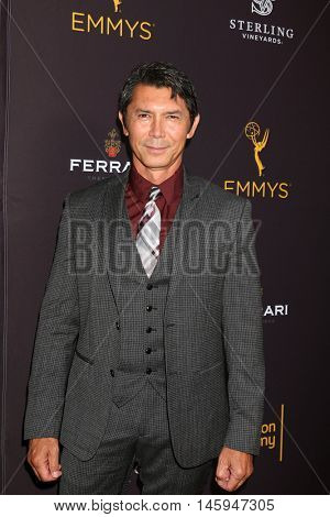 LOS ANGELES - AUG 22:  Lou DIamond Phillips at the Television Academy's Performers Peer Group Celebration at the Montage Hotel on August 22, 2016 in Beverly Hills, CA