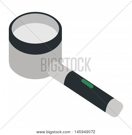 Magnifier search loupe icon