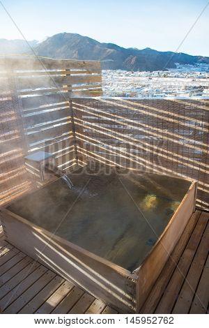 Open Air Hot Spring Onsen