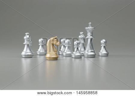 Golden Knight Chess