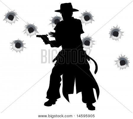Gun Slinger westlichen Shoot out