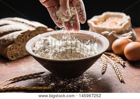 spelt flour