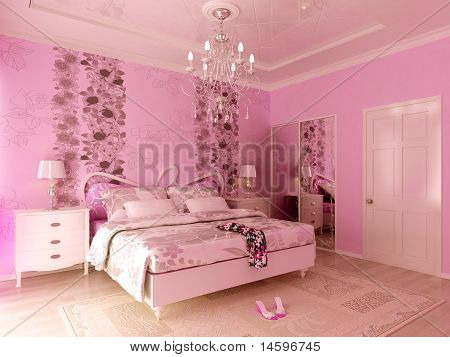 Pink Teengirl's bedroom