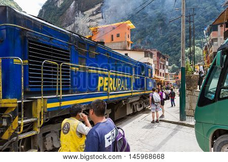 Train In Aguas Clients Or Machu Pichu