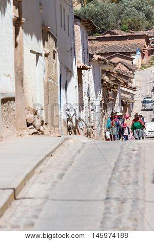 People Walking In Maras