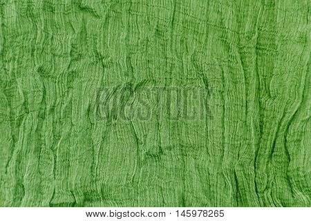 Pleated Fabric Background Texture. Pattern Of Fabric In The Crease Pattern For Backgrounds And Textu