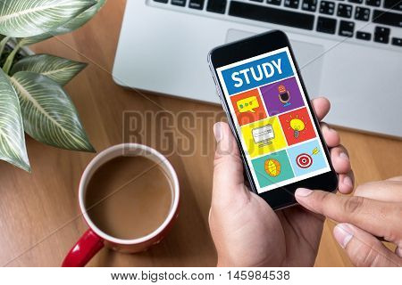 Study Student Studying Hard And Students Studying Learning Education