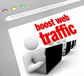 Web Traffic - Boost Internet-Screenshot
