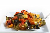 Roasted Veg And Spoon poster