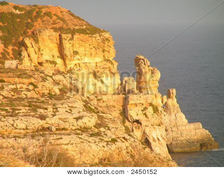 Cliffs At Ghar Hasan