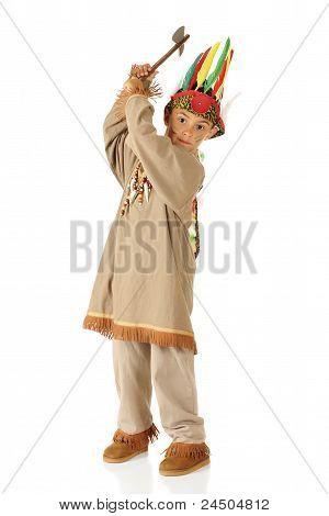 Tomahawk Indian