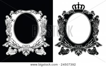 Royal Crown Luxury Vintage Composition