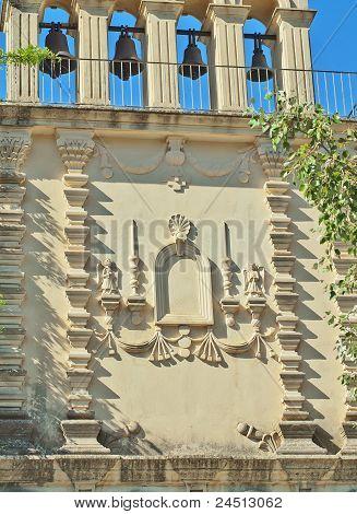 facade of monastery St. Gerasimos in Kefalonia, Greece