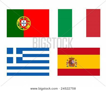 Flags Of The Pigs