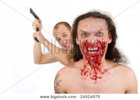 Man kills maniac
