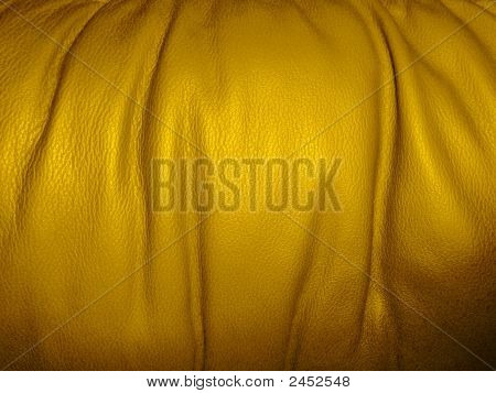 Golden - Yellow Leather