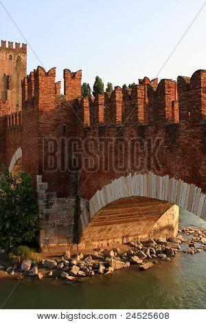 The Castelvecchio Bridge, Verona