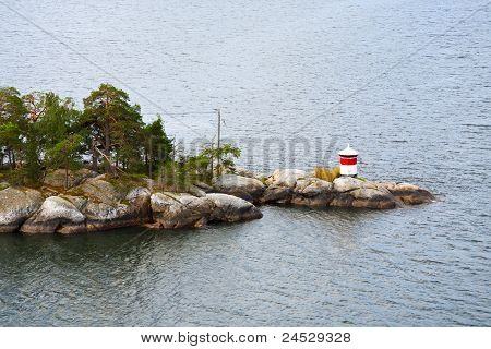 Small Beacon On Stone Island